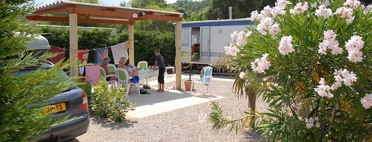 Mobile-home-huren-Ardeche-camping