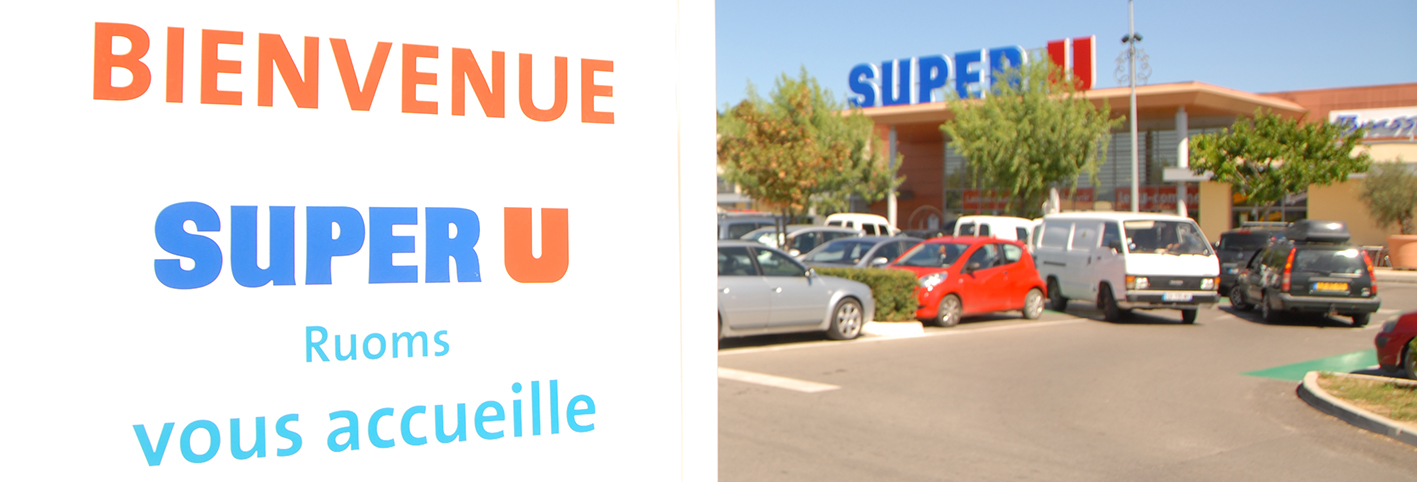 Supermarkt-Ruoms-Ardeche